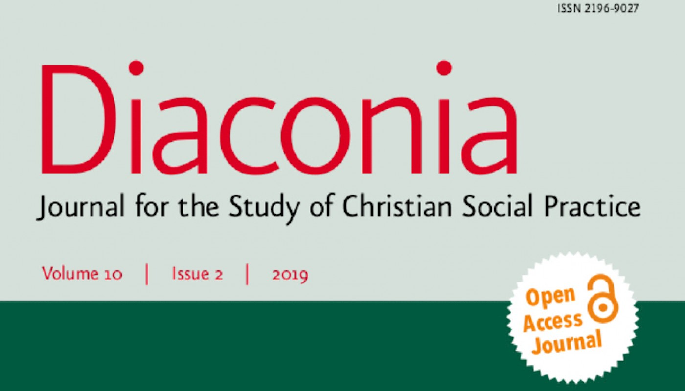 CODE research group at VID Specialised University as guest editor for international DIACONIA journal